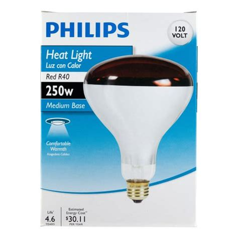 Philips 415836 Heat L 250 Watt R40 Flood Light