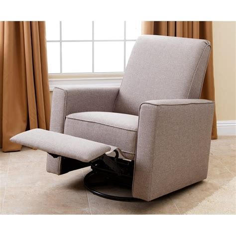 swivel glider recliner nursery chair abbyson living hton nursery swivel glider recliner