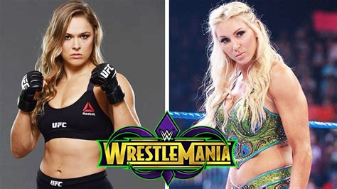 charlotte flair vs rousey charlotte flair wants to face ronda rousey at wrestlemania