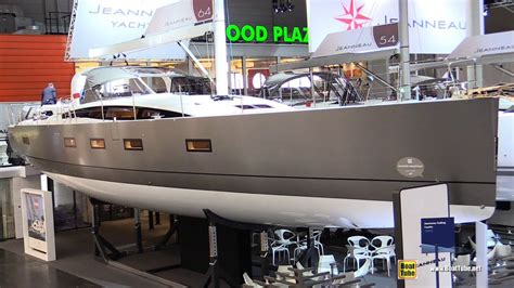 sail boat show 2018 2018 jeanneau 64 sailing yacht walkaround 2018 boot
