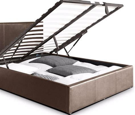 ottoman storage bed assembly instructions ottoman double storage bed upholstered in faux leather