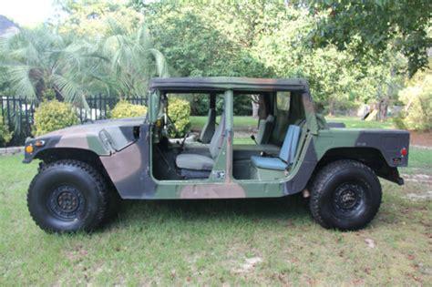 jeep humvee 1990 m998 hmmwv general humvee hummer h1 jeep for