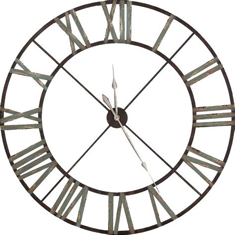 steeple iron wall clock by the orchard notonthehighstreet