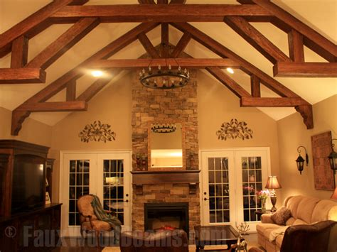 How To Install Decorative Ceiling Beams by 15 Faux Wood Ceiling Beam Ideas Photos