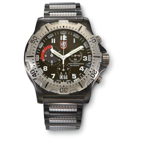 luminox dive chrono luminox 174 ultimate seal chrono dive 186216 watches