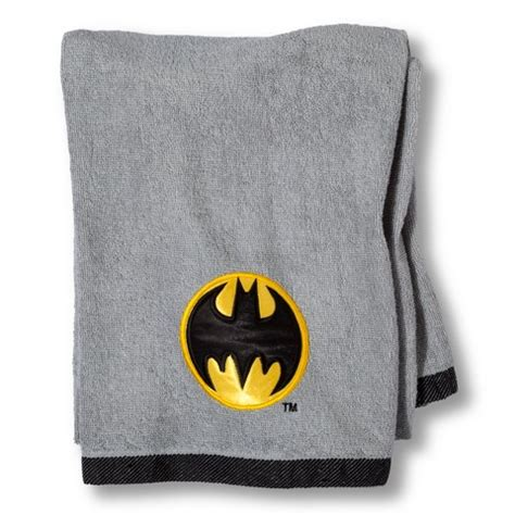 Batman Bath Towel Target Batman Bathroom Accessories