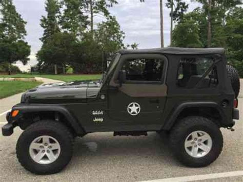 2005 Jeep Wrangler Willys Edition For Sale Jeep Wrangler 2005 Sharp Looking Willys Edition 4 0 6