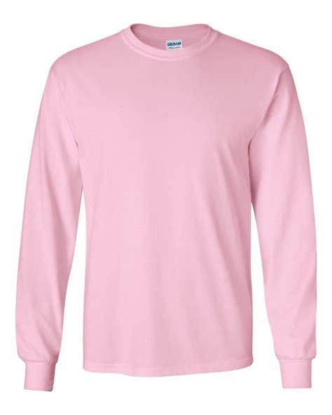 Light Pink Sleeve Shirt by Gildan 2400 Blankstyle