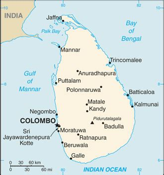 sri lanka google map driving directions and maps