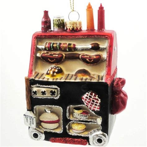 christmas bbq grill 15148 ornament cookout new ebay