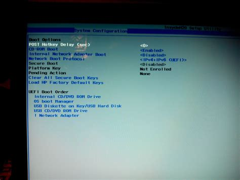 reset bios hp desktop hp 15 d053sr after bios update only uefi mode on bios hp