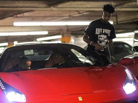 drake ferrari 21 savage says drake bought him a ferrari for his birthday