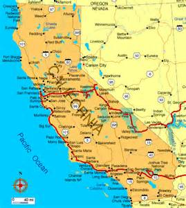 karte kalifornien map of california marco nef