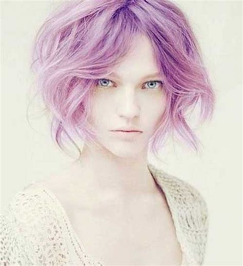 hairstyles with pastel colours 20 short hair colours short hairstyles 2017 2018