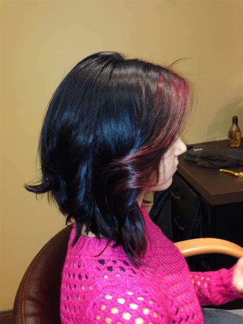 redken ethnic hair angled bob with redken color dark bob redken color