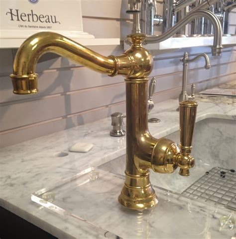 kitchen faucets brass unlacquered brass wall mount kitchen faucet