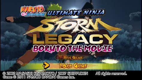 naruto shippuden ultimate ninja storm legacy mod textures