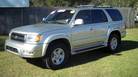manual cars for sale 2000 toyota 4runner user handbook 2000 toyota 4 runner 4runner limited for sale leisrue used cars 850 265 9178 youtube