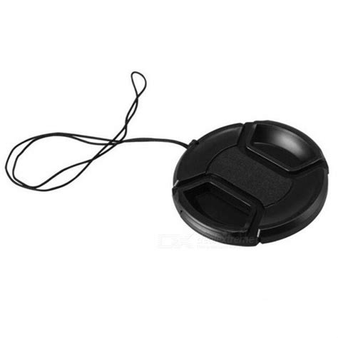 Universal Black Lens Cap 72 Mm fotografering universell typ 72mm kamera linsskydd svart