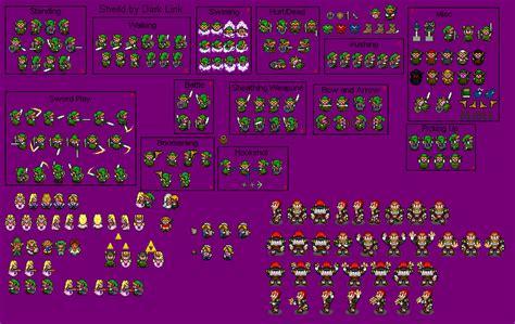 legend of zelda map sprites oot zelda sprites by shadicles on deviantart