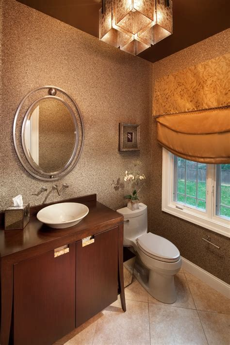 powder room light fixtures Powder Room Traditional with