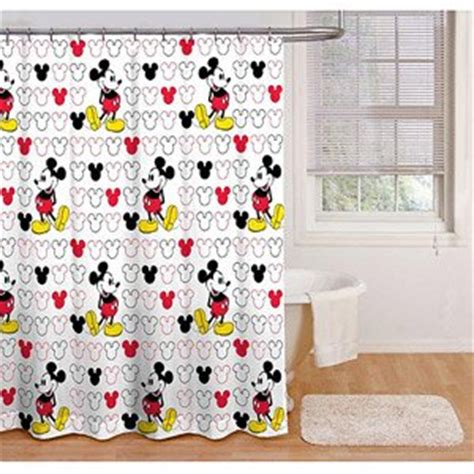 disney shower curtain set com disney mickey mouse fabric shower curtain