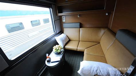 Via Rail The Canadian Sleeper Touring Class by Take A Tour Of Via Rail Canada S New Prestige
