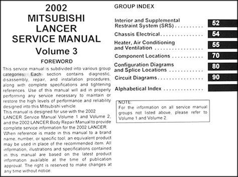 free service manuals online 2004 mitsubishi lancer electronic throttle control 2002 mitsubishi lancer wiring diagram efcaviation com