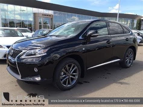 lexus rx black 2015 2015 lexus rx 350 awd f sport package review black on