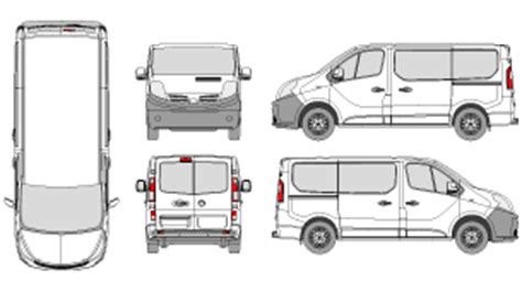 Mr Clipart Nissan Nv200 Template