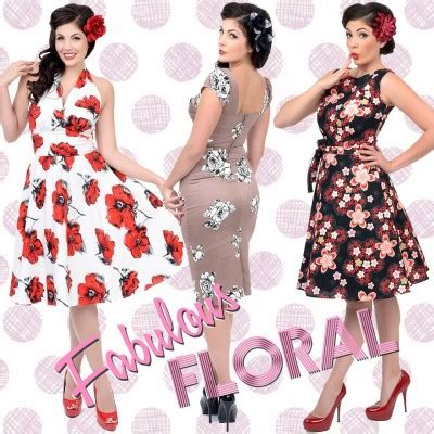vintage style dresses: 30s, 40s, 50s, and 60s