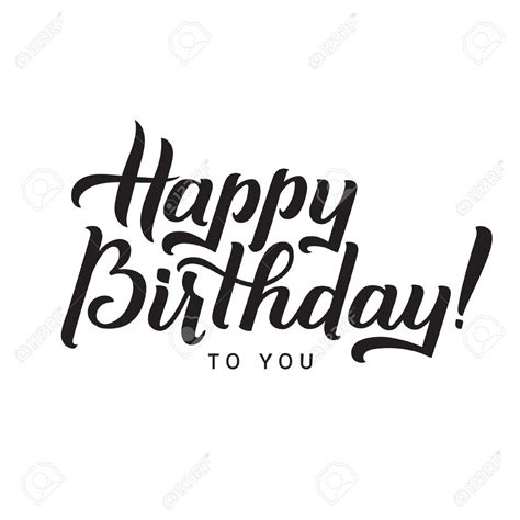 happy birthday lettering design lettering clipart happy birthday pencil and in color