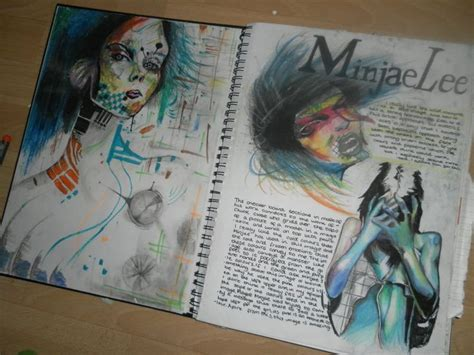 Research Paper Artist by Sketchbook Exle A Visual Diary Sketchbooks And Student