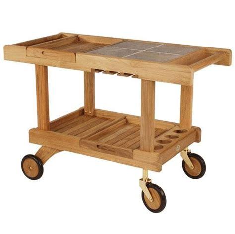 patio serving carts on wheels 5 favorites outdoor bar carts gardenista