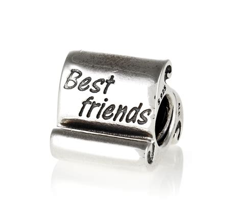 pandora silver best friends charm 790512 greed