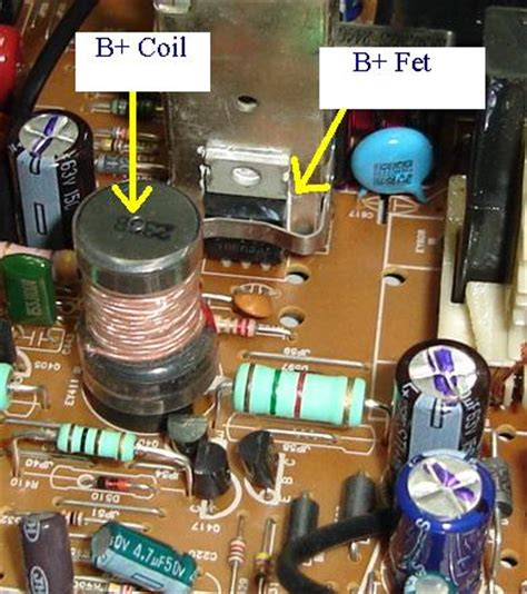 crt tv capacitor what voltages to expect from the secondary output of smps electronics repair and technology news