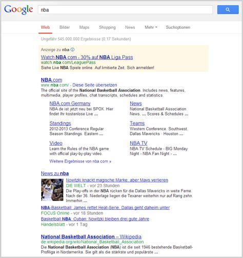 blogger united google zeigt sportergebnisse direkt an seo united de blog