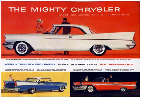 chrysler advertising model year madness 10 classic ads from 1957 the daily