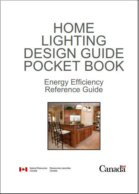 home lighting design guide pocket book natural resources