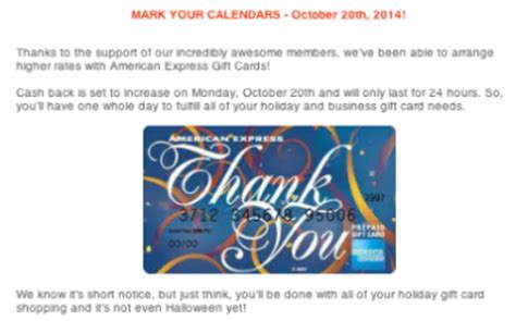 What Shops Take American Express Gift Cards - one day only increased payout at big crumbs for amex gift card