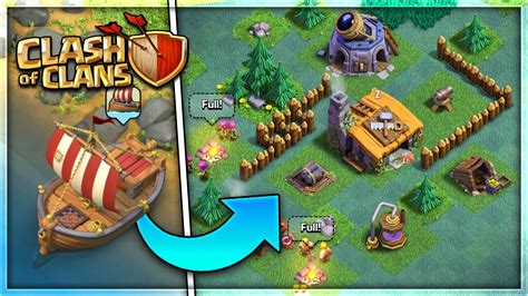 clash of clans what is builder boat new quot boat builder village quot update in clash of clans new