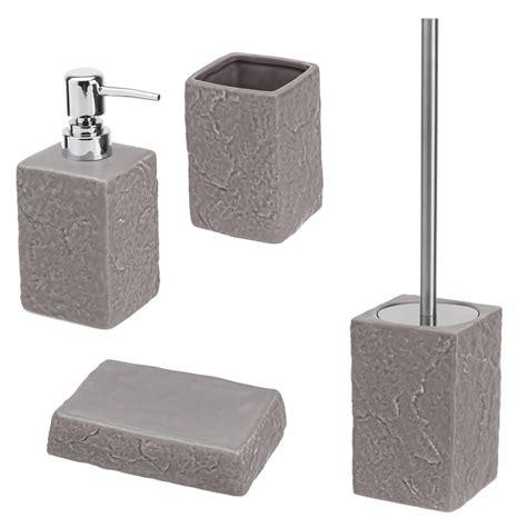 set bagno set da bagno dispenser portaspazzolino portasapone