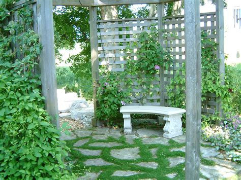 hardscaping dry garden landscaping ideas at organic vegetable gardening blog