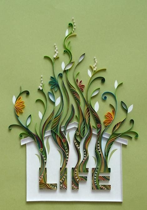 paper craft quilling designs amazing paper quilling patterns and designs chilli
