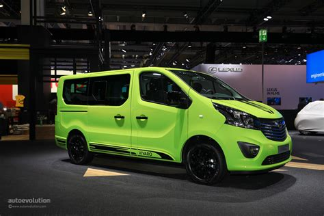opel vivaro opel vivaro life makes cer vans look cool in frankfurt