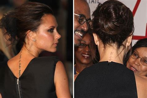 victoria beckham tattoo removal beckham reveals faded wrist tribute
