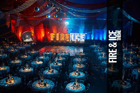 party themes like fire and ice fire ice themed events parties