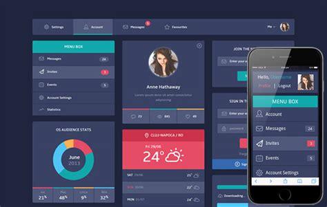 flat ui design templates flat ui design templates flat design ui components web