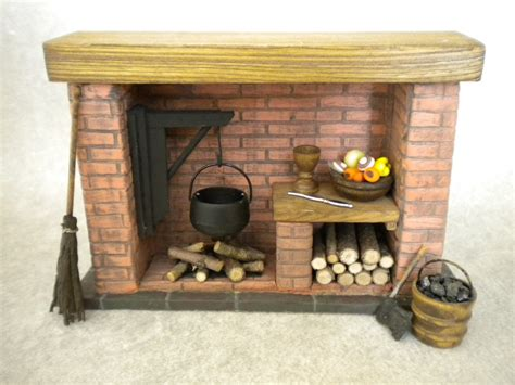 fireplace cooking accessories doll house fireplace with accessories colonial tudor