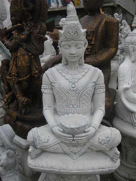japanische figuren garten chinesische le buddha steinfiguren teich figuren